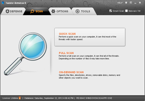Windows 7 Twister Anti-TrojanVirus 8.16 full